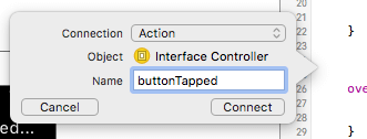 Create Button Action