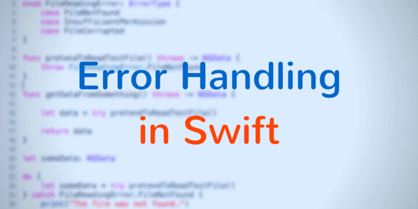 Error Handling In Swift
